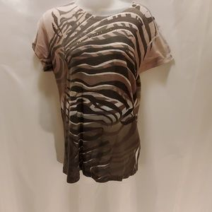 Cache womens tee shirt size large